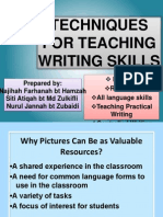 Techniques for Teaching Writing Skills