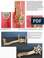 Clock 15 Art Nouveau Grasshopper Instructions