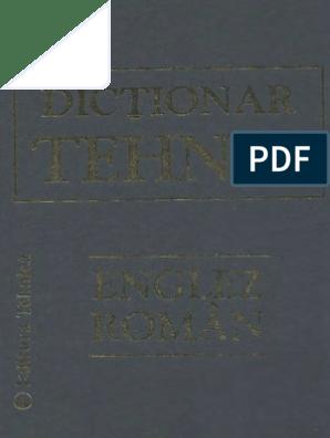 Dicţionar de Bază de la Romanova la Limba Română