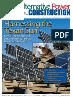 Alternative Power Construction - 10 OCT 2009