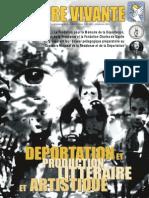 Deportation Et Literature