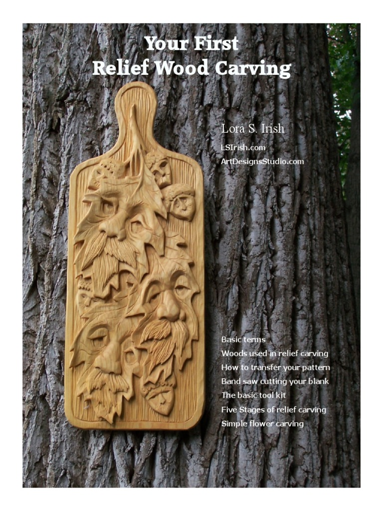 Your first carving by ls irish.pdf wood carving blade