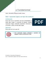EAD 05 ExpreLogic Nao Numericas