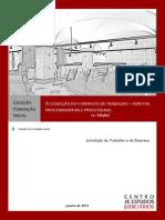 A Cessacao Do Contrato de Trabalho Aspetos Procedimentais e Processuais 2 Edicao