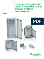 Stainless-steel and Thermoplastic Universal Enclosures - Catalogue 2009