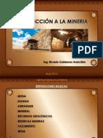 Introduccion a La Mineria Clase 26-04-14