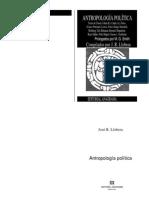 Llobera (comp) - Antropología política
