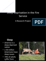 Sleep Deprivation in the Fire Service