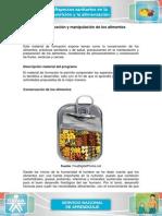 4 Conservacion y Manipulacion de Los Alimentos