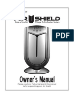 AirShieldAirPurifierOwners Manual