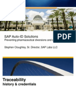 SAP Auto-ID Solutions Preventing Pharmaceutical Diversions and Counterfeiting