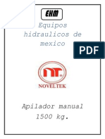 Apilador Manual Noveltek