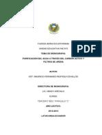 Monografia Purificacion Del Agua