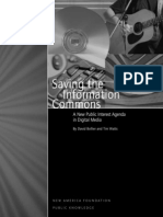 Bollier_Saving Information Commons
