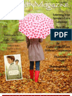 November Issue for ExemplifyOnline.com Magazine