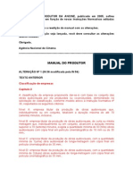 ANCINE Manual Do Produtor 2005 - Modificações 2007