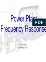 06 Power Plant Frequency Response