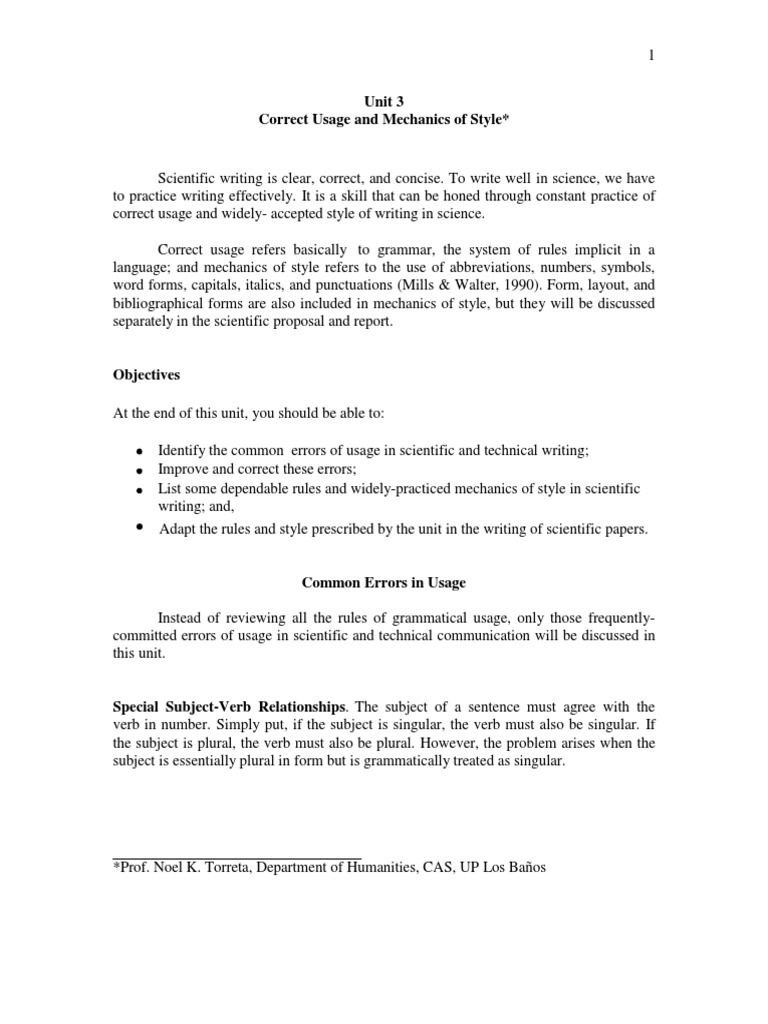 Unit 3 grammatical number verb biocorpaavc Gallery