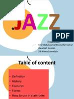Genre of Song Jazz
