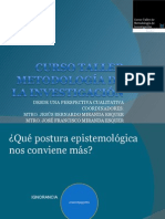 Curso taller metodología de la investigaciónITSON
