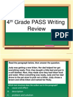 Review for ELA PASS Test