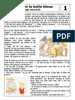 Charlie Et La Boite Bleu Text
