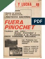 Unidad y Lucha 069 Agosto 1983