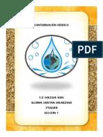 Contaminación hidrica 1