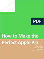 group manual - apple pie manual
