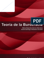 Administración - Teoría de La Burocracia