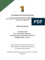 RODRIGUEZ PANIAGUA Construccion Guitarra Extremadura Actual