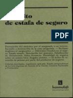 El Delito de Estafa de Seguro - Fernando Bosch(1)