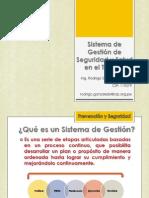 SISTEMA DE GESTIÓN DE SEGURIDAD Y SALUD EN EL TRABAJO - SEGURIDAD INDUSTRIAL