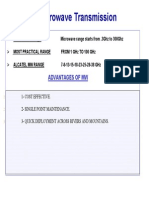 Alcatel Microwave Link Presentation