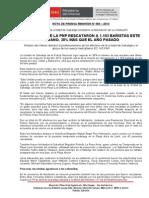 SALVAVIDAS DE LA PNP RESCATARON A 1,103 BAÑISTAS ESTE VERANO, 38% MÁS QUE EL AÑO PASADO