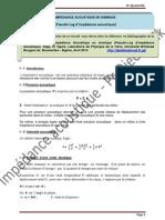Impédance acoustique en sismique (pseudo-log d'impédance acoustique)