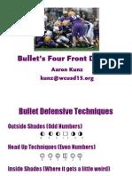 Bullets 4-4 Defense