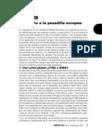 Jaime Pastor - Del Sueño a La Pesadilla Europea