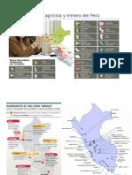 Mapa agrícola y minero del Perú