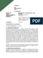 Programa Medicina 2013-2