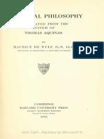 88216286 Maurice de Wulf Mediaeval Philosophy