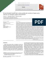 Injury Journal _ Effective Triage
