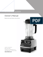 Vitamix 6300 Owners Manual
