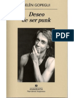 Belc3a9n Gopegui Deseo de Ser Punk