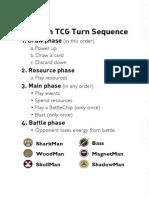 MegaMan TCG - Grave Rulebook