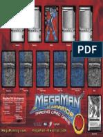MegaMan TCG - Playmat