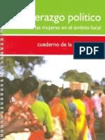 Liderazgo PoLítico de Las Mujeres Ambito Local_cuaderno Participante