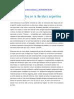 José Pablo Feinmann Linchamientos en La Literatura Argentina