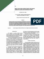 Reaction and Mass Transfer - Environm Technol