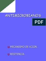 Antibióticos y Resistencia Microbiana